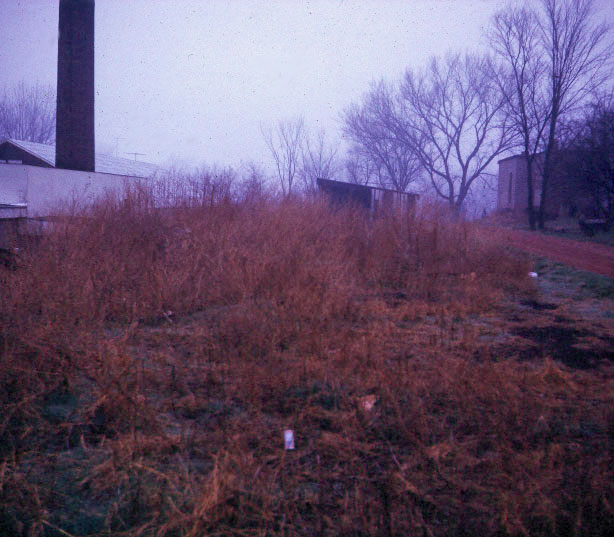 Original north side of Greenhouse - 1972.