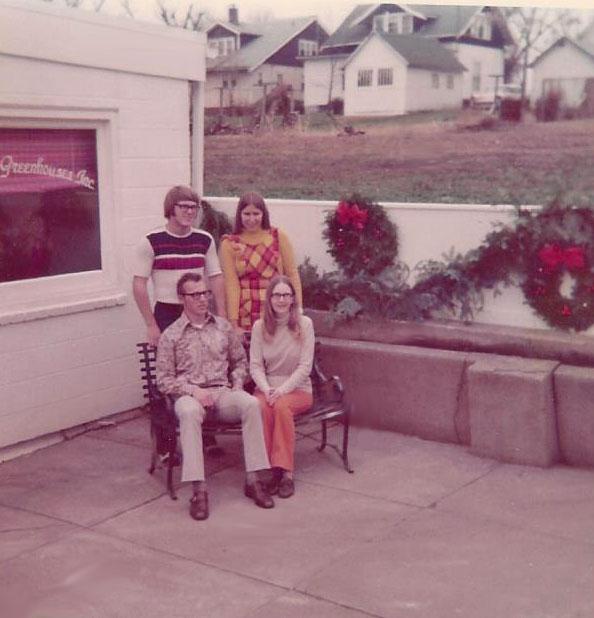 Fargo friends visit - 1972.
