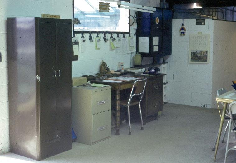 GHS office - 1976.