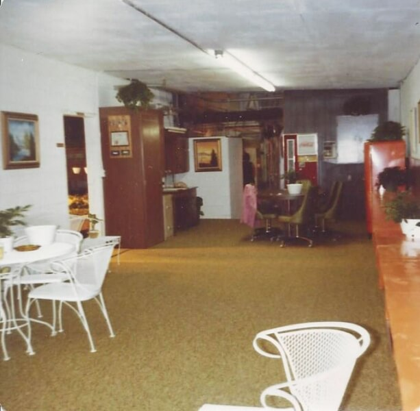 Inside front area - 1980s.