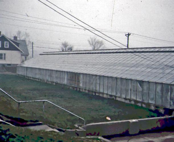 East side of GHS - 1972.