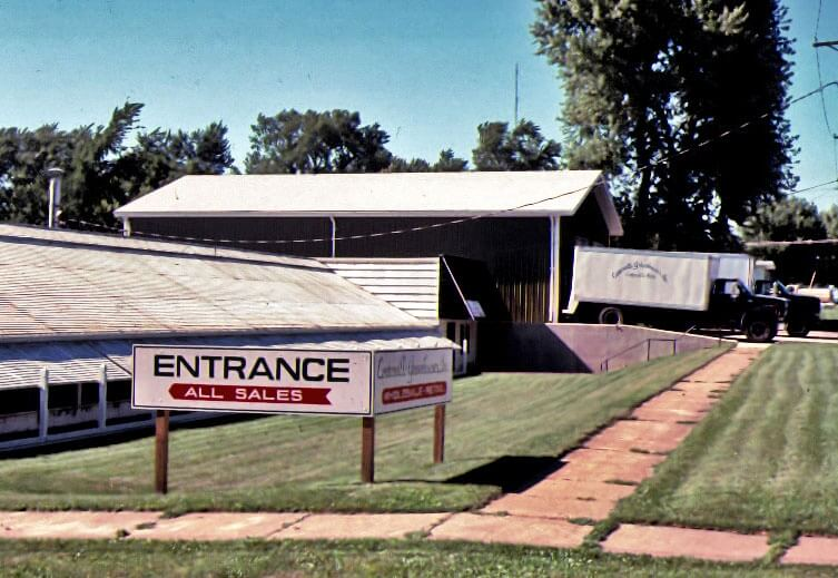 View from the south-east corner - 1980.