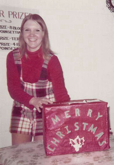 One of our very first employees - Dorothy - 1972.