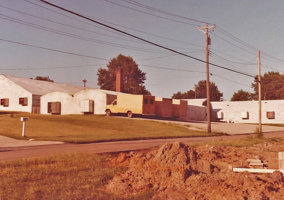 South side of GHS - 1979.